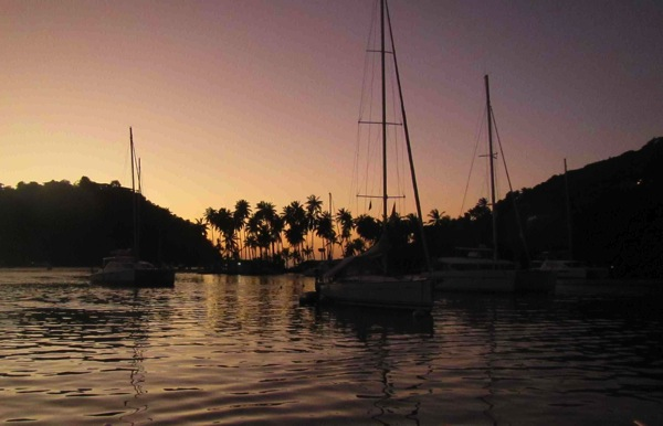 Marigot Bay Sunset