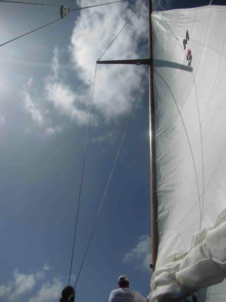 Repaired Mast 1