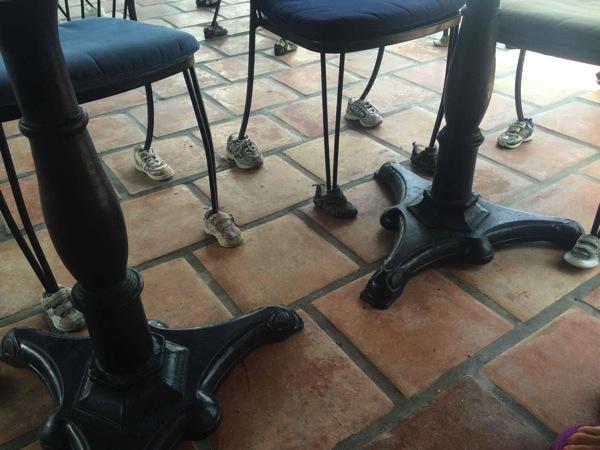 Chair feet