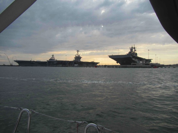 Norfolk Aircraft Carriers