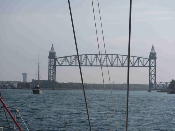 Start of the Cape Cod Canal