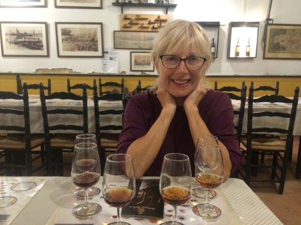 Sherry Tasting the beginning