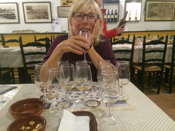 Sherry Tasting the end