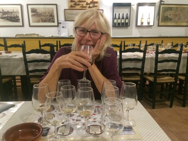 Sherry Tasting the middle