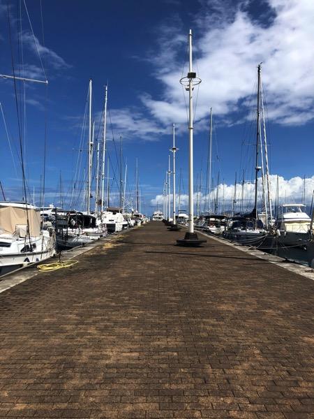 Marina deserted