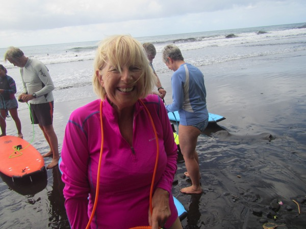 Surfing  Lyn  Cock Eyed Optimist