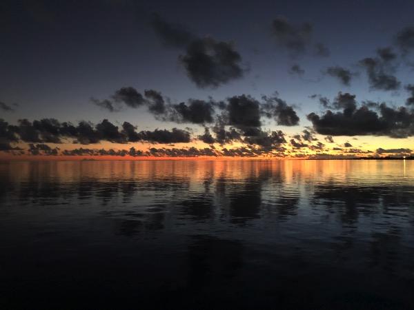 Gratuitous Rangiroa Sunset